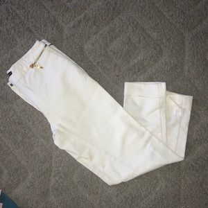 Zara white skinny trousers size 2